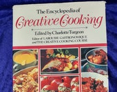 The Encyclopedia of Creative Cooking Cookbook Vintage 1982