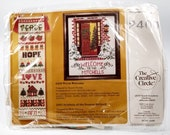 Creative Circle Warm Welcome Counted Cross Stitch Kit #2400 Vintage 1985
