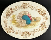 Royal Nottingham by Northern Melmac Turkey Serving Platter