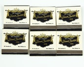 Pete Fountain Matchbooks French Quarter Inn Jazz Bourbon St. New Orleans Front Strikers Lot of 6