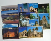 Vintage Lot of 19 Postcards South Padre Island San Antonio Passion Play and others