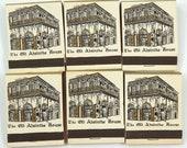Moran's La Louisiane Old Absinthe House Matches Lot of 6 Vintage Pre-1973 Front Striker