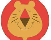 Leo The Lion Latch a Rug Kit 24 x 34 Vintage 1978 John Peaslee Latch Hook