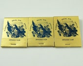 Moffett Naval Air Station Officer's Club Matches Matchbooks Set of 3