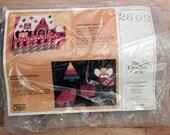 Candy Cane Lane Christmas Creative Circle 2602 Needlepoint Kit