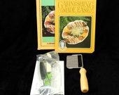 Current Vintage 1983 Garnishing Tool Kit 5 Piece Set and Instruction Book
