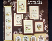 Four Seasons Cross Stitch and Needlepoint Charts by Leisure Arts