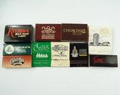 Colorado Restaurants Casinos Hotel Matches Matchboxes Lot of 10