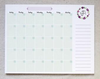Fill In Calendar Etsy