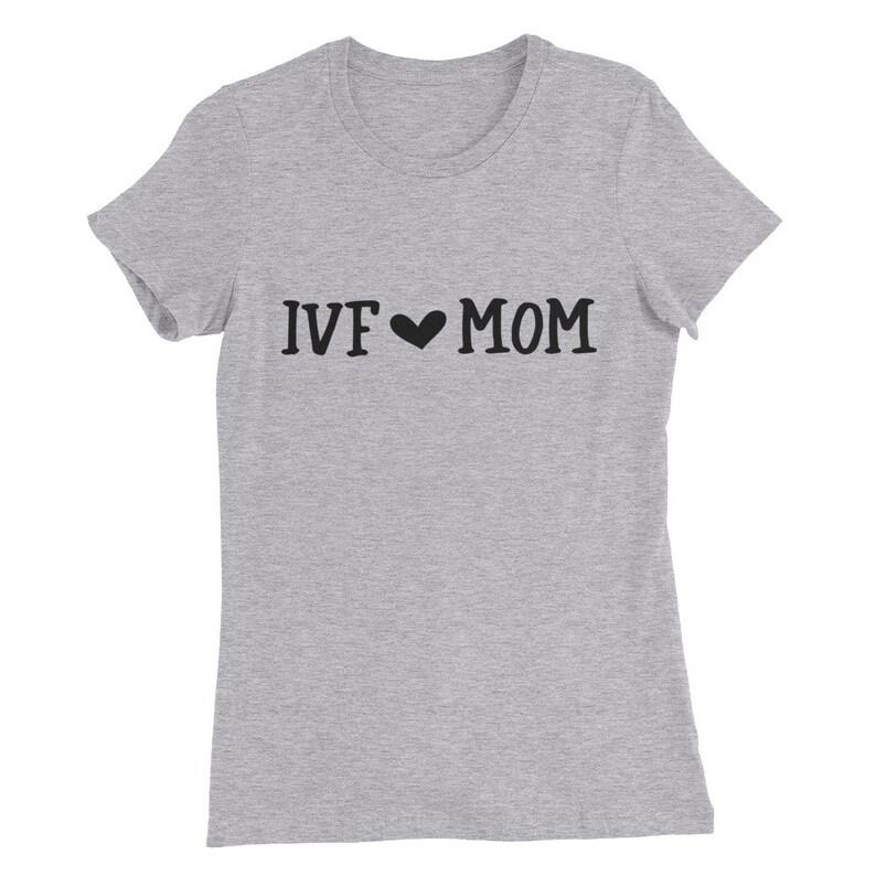 43556470 IVF Mom Womens Slim Fit T-Shirt tank top heat transfer | Etsy