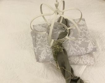"""""""Floral"""" Piquet cotton bedspread"""