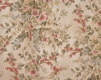 "Cotton fabric ""The flowers of ART NOUVEAU"" height 2.80 meters"