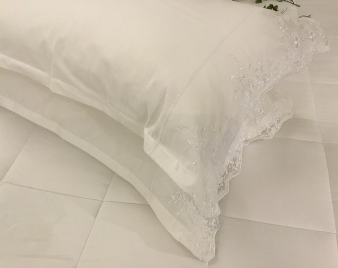 "Cushion bed with precious Lace ""Elisabet"""