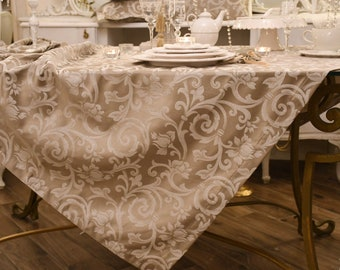 """Damask tablecloth """"Imperial"""""""