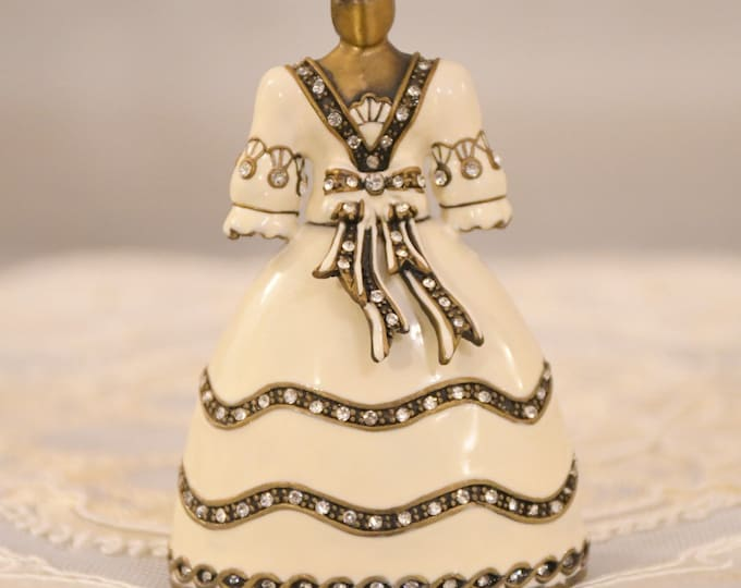 """Fabergé"" style collection bell"
