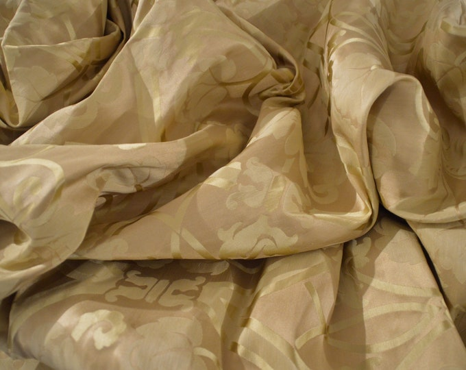 Wonderful gold silk fabric