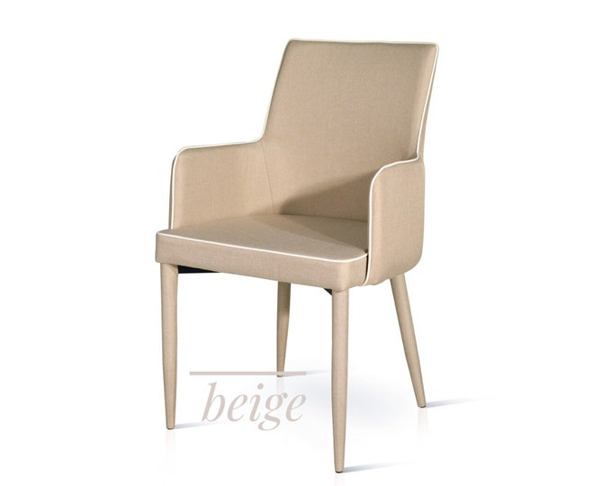 "Armchair ""Giulia"" in eco-leather set of 2"