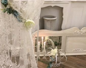 Flowers decoration tent Romantic Bouquet Blue