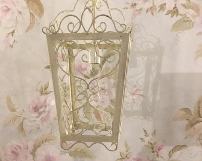 Lantern with light