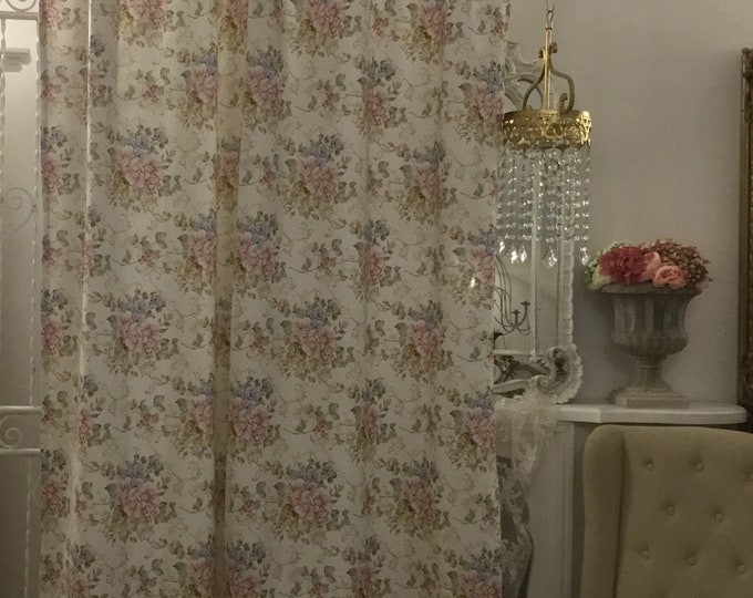 "Flower Curtains Collection ""The Flowers of Art Nouveau"""