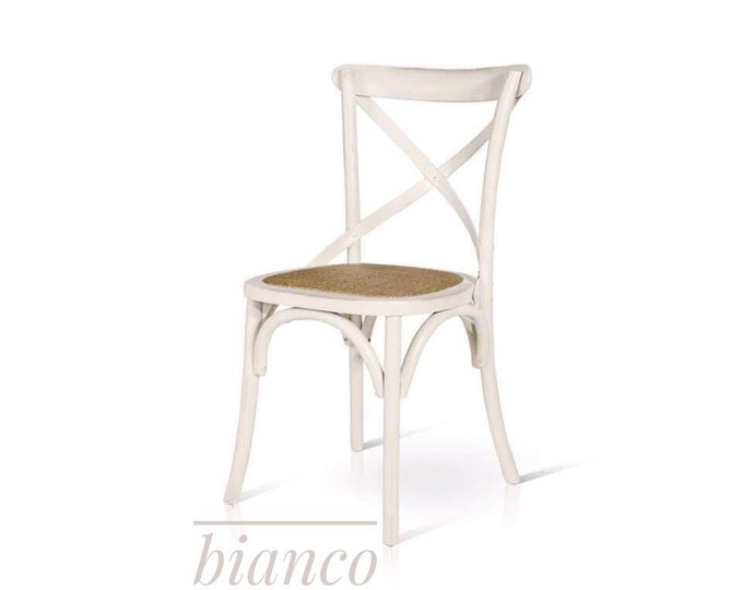 "Wood Chair Country ""Delice"" set of 4"