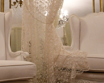 """Awning wonderful embroidery collection """"precious curtains"""""""