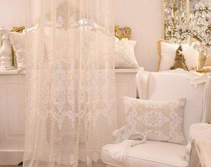"""""""Versailles"""" linen tent"""