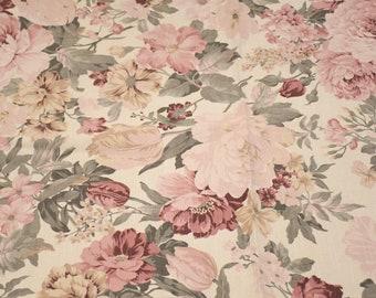 floral fabric shabbychic