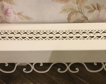 Small sofa/Bench pure white