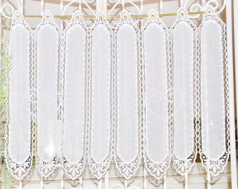 Embroidered Glass Curtain