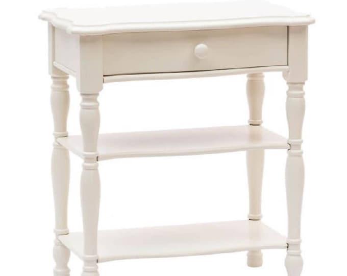 """""""Milly"""" Matt white bedside table"""
