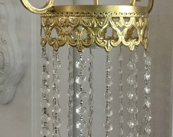 """Liberty"" Gold chandelier"