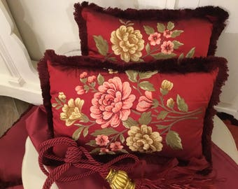 Luxury silk pillows Set