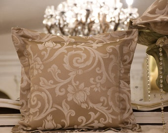 """Luxury pillow with """"IMPERIAL"""" collection flyer"""