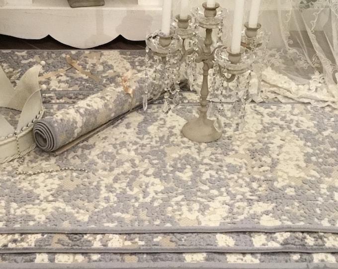 Cotton and Velvet rug