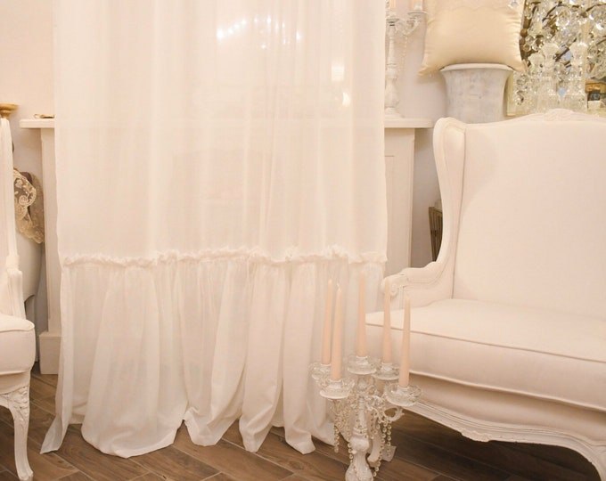 """Tent collection """"Natural chic"""" white"""