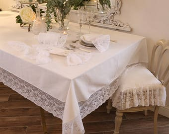 "Precious lace Tablecloth ""the princesses"""