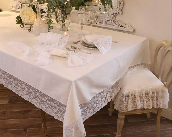 "Precious lace Tablecloth ""the princesses"""