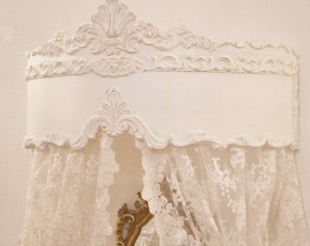 """Canopy for bed curtains """"Mariasofia"""""""