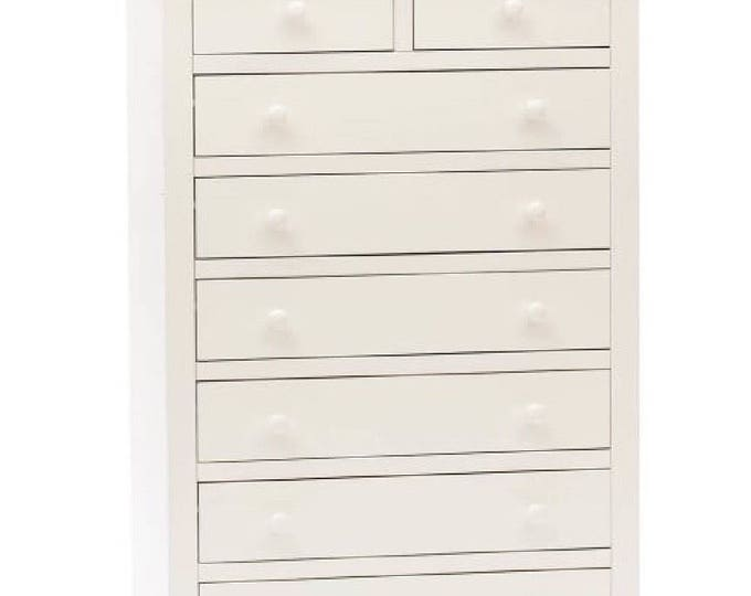 "White chest of drawers ""LILLY"""