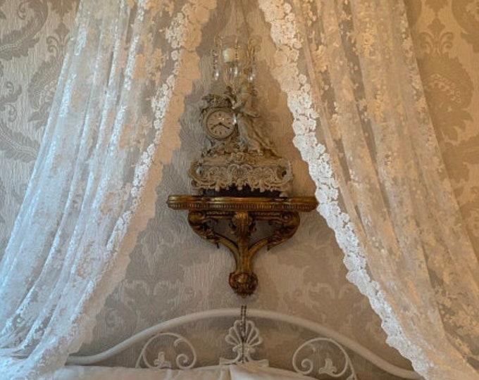 "Fabric for antique lace curtains ""Greta"""