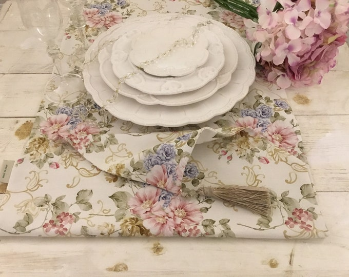 """Italian luxury Runner Collection """"The Flowers of Art Nouveau"""""""