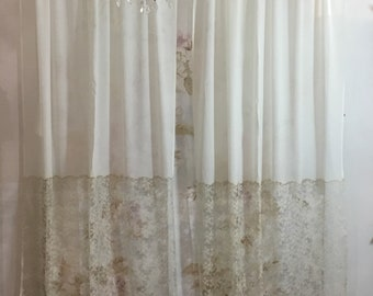 Curtains Lace and Georgette