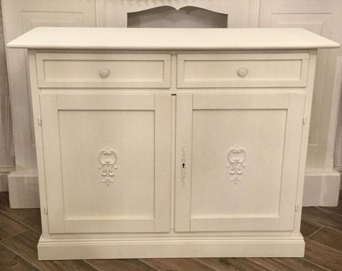 Sideboard Shabby Chic White