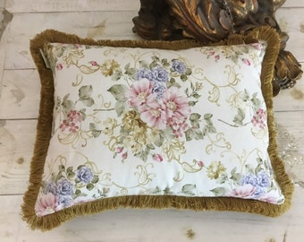 "Flower Cushion Co Brush Gold Collection ""The Flowers of Art Nouveau"""