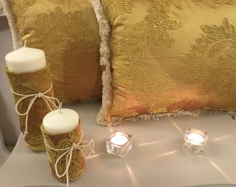 Luxury pure silk pillows set of 2
