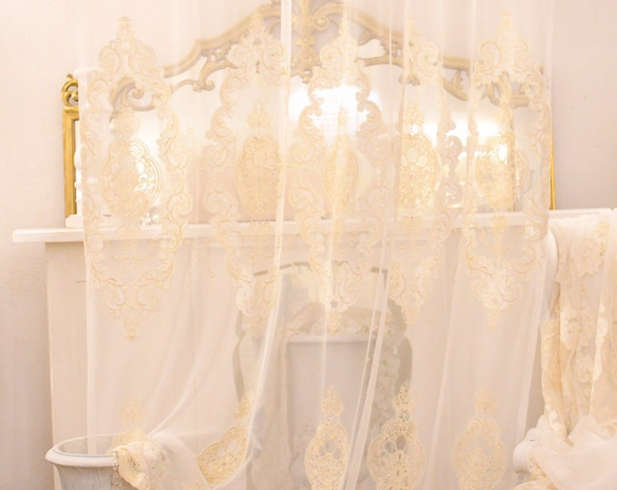 Victorian ivory tent