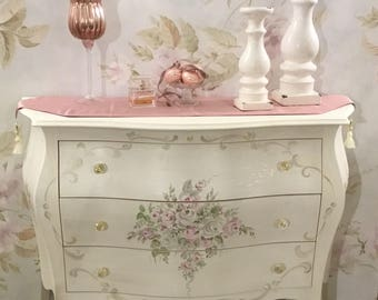 Decorated chest dresser