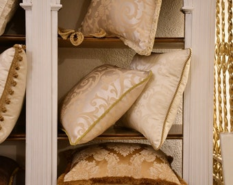 """Luxury cushion white / ivory collection """"IMPERIAL"""""""