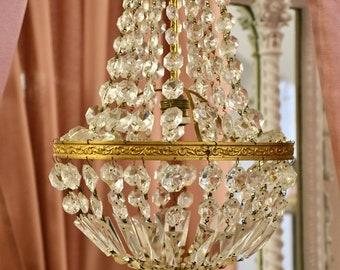 Antique Chandelier empire style 1 light